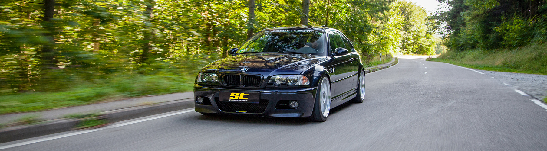 The ST XTA Coilover suspension kit, which is manufactured at KW automotive in Germany, allows a maximum lowering.