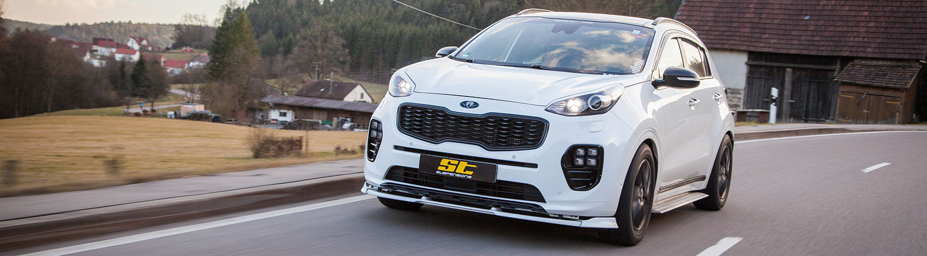 ST suspensions offers the ST XA coilover kit for all KIA Sportage (QL)
