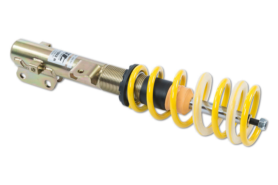 Through numerous road tests and endurance tests, the ST X coilovers feature a tuned damper setup that provides a more direct handling and more grip when driving enthusiastically.